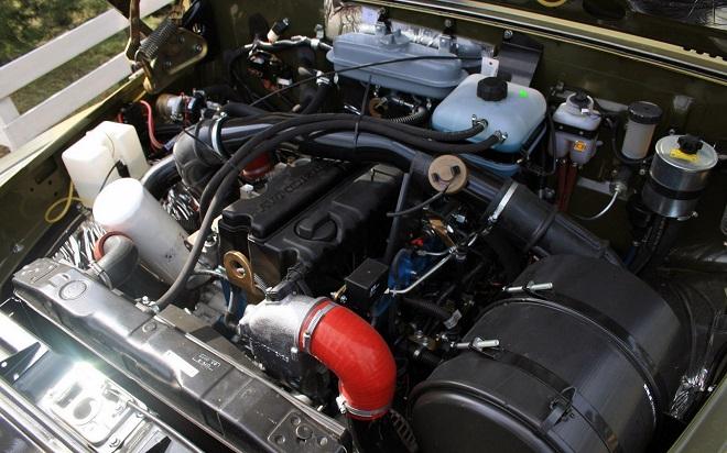 Технические характеристики двигателя машины