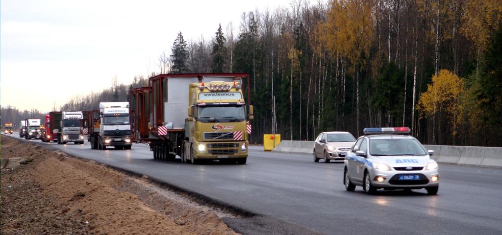 Нормы ПДД для провоза негабаритных грузов
