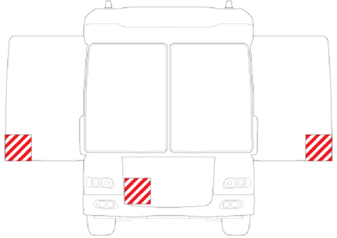 Обозначение крупногабаритного груза при транспортировке
