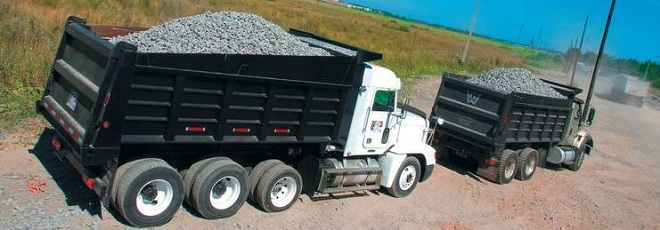 Перевозка сыпучих грузов тонарами