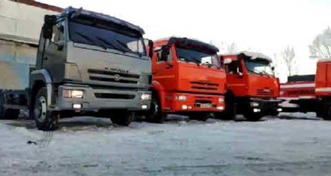 серийное производство КамАЗ-65115
