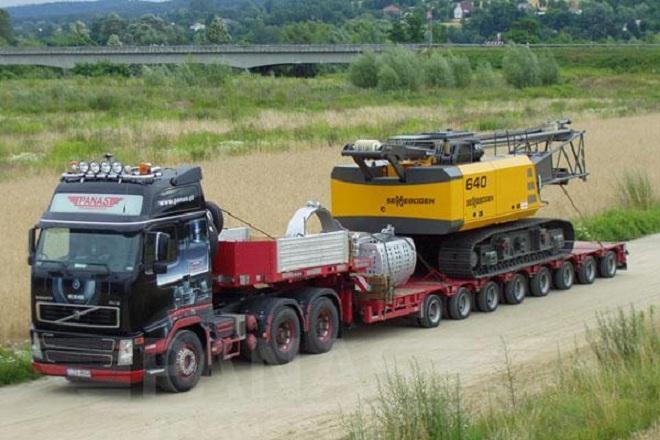 Заявление на перевозку крупногабаритных грузов