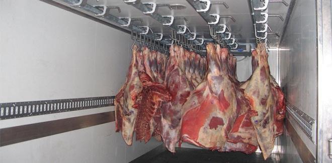Перевозка мяса автотранспортом