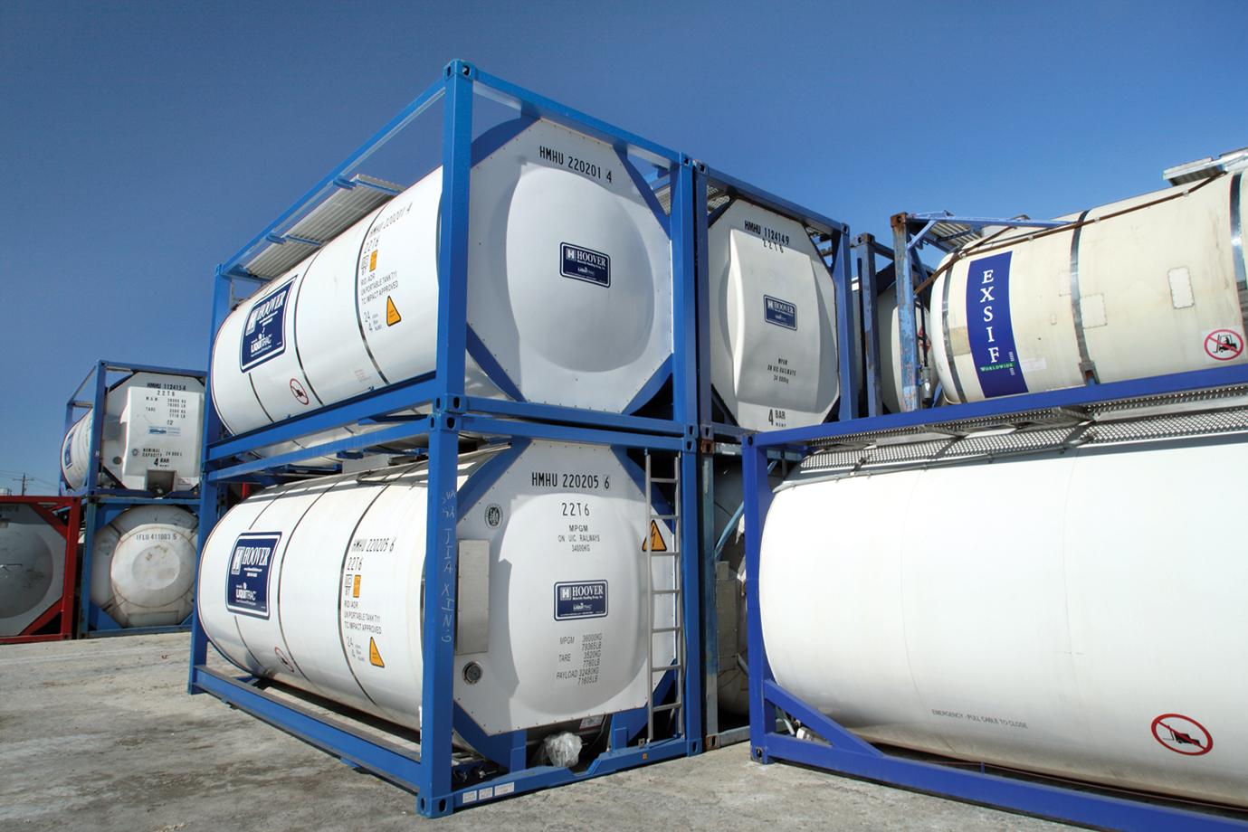 Характеристики наливных грузов