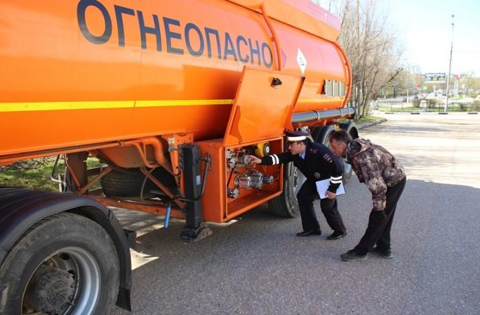 Штраф за перевозку опасных грузов
