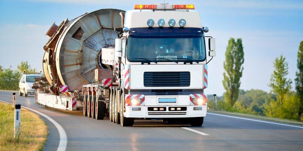 Сопровождения негабаритных грузов